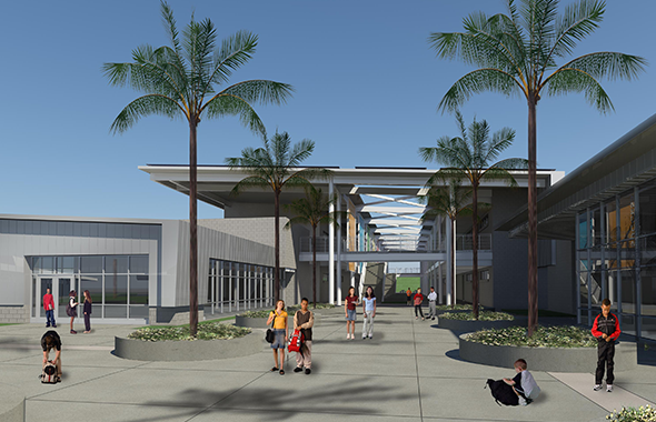 SUHSD and Balfour Beatty Construction hold groundbreaking for Montgomery Middle School