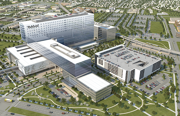 New Parkland Hospital Honored as Project of the Year by the Regional Hispanic Contractors Association
