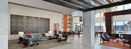 131 Ponce Midtown Apartments Atlanta, GA Reception Area