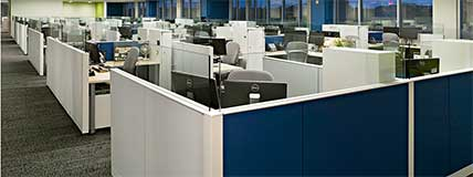 Compass Group Global Headquarters Charlotte, NC Cubicles Offices