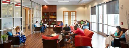 Florida Atlantic University (FAU) Parliament Hall Boca Raton Study Room Students
