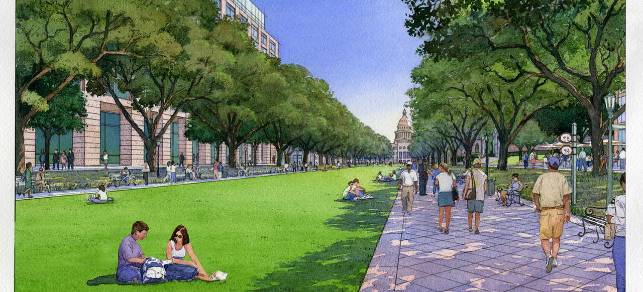 State of Texas Capitol Complex, Master Plan, Phase I