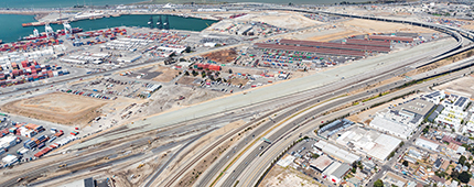 Port of Oakland Outer Harbor Intermodal Railyard