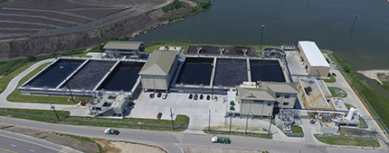Galveston Wastewater Treatment Plant