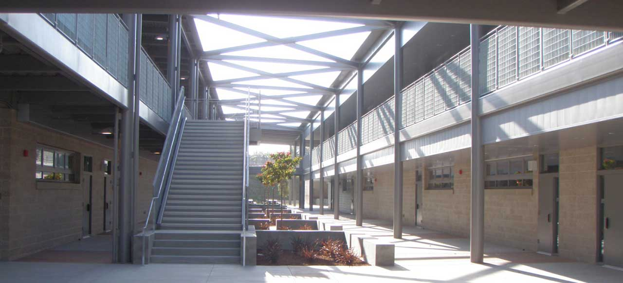 Montgomery Middle School Stairs