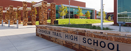 Eagle Mountain-Saginaw ISD Chisholm Trail High School and Stadium