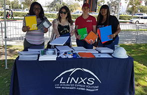 LAX Integrated Express Solutions Project Partners Donate for Back to School