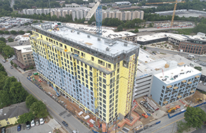 Osprey Tops Out in West Midtown Atlanta
