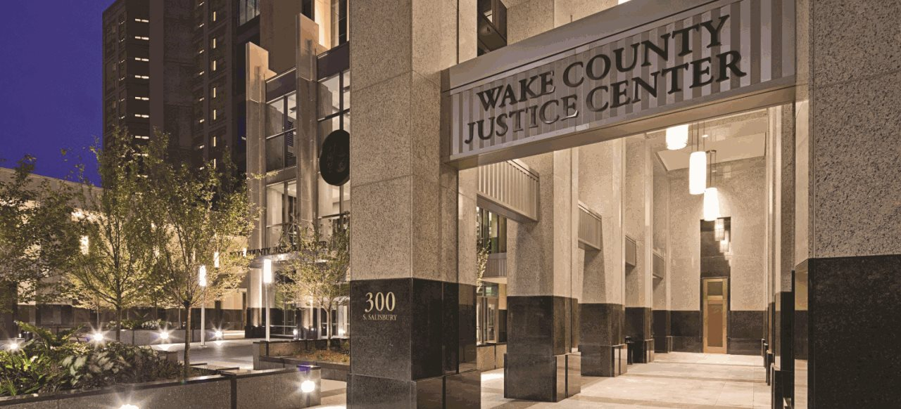 Wake County Justice Center Raleigh, NC