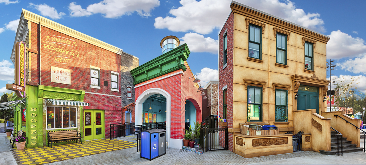 This attraction renovation project brought the Sesame Street neighborhood to life by transforming a former children's play area into a one-of-a-kind, highly themed, immersive experience.